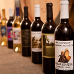 Historical Wine Labels  only to be seen again at a Wine Library Dinner.